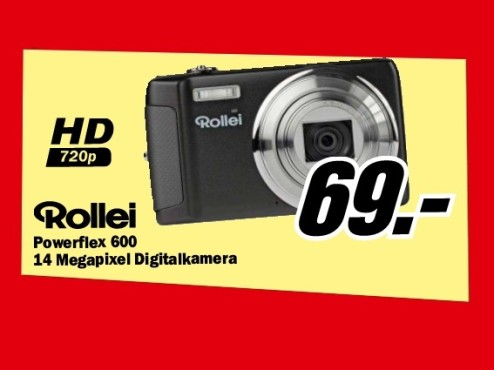 Rollei Powerflex 600 © Media Markt