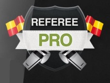 Referee Pro Logo&nbsp;&copy;&nbsp;Siine