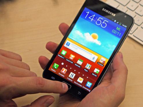 Samsung Galaxy Note ©COMPUTER BILD