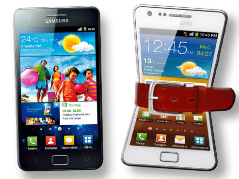 Samsung Galaxy S2 i9100G ©Samsung/COMPUTER BILD