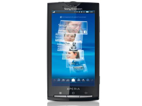 Sony Ericsson Xperia X10 ©COMPUTER BILD