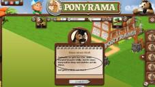 Onlinespiel Ponyrama: Kaufaufforderung ©vzbv.de