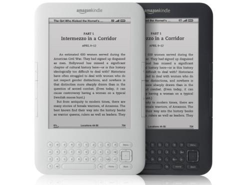 Der drite Kindle von 2010. ©Amazon