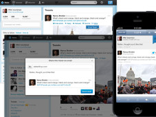 Twitter: Kurzmitteilung auch per Email Twitter: So verschicken Sie Ihre Tweets per Email. ©Twitter