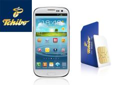 Gewinnen Sie ein Galaxy S3 von Samsung inklusive einer SIM-Karte von Tchibo mobil.©Samsung, Tchibo