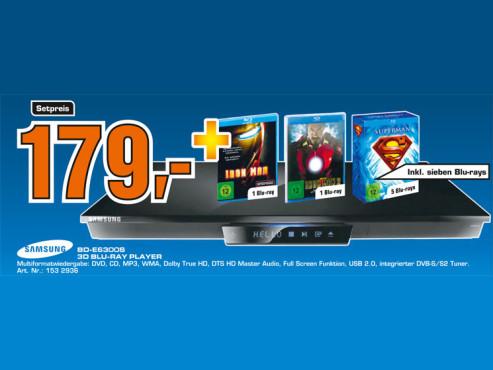 Samsung BD-E6300S ©Samsung
