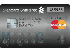 MasterCard Display Card Kreditkarte © MasterCard