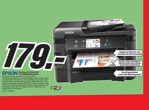 Epson WorkForce WF-3540DTWF © Media Markt