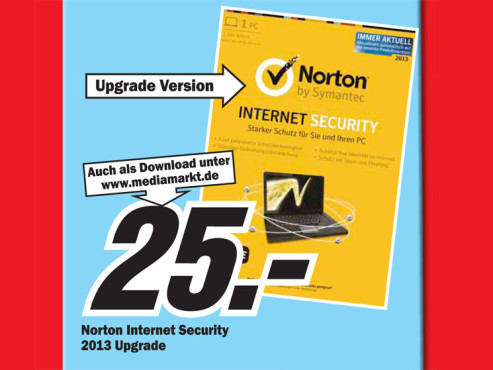 Norton Internet Security 2013 1 User Upgrade © Media Markt