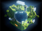 Mooncraft � Building Blocks: Welt © Apple