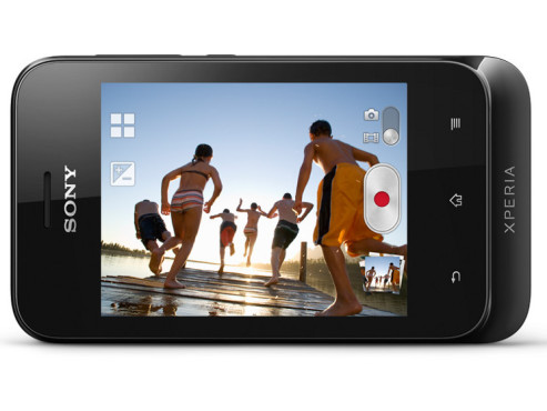 Die Kamera des Sony Xperia Tipo in Aktion © Sony