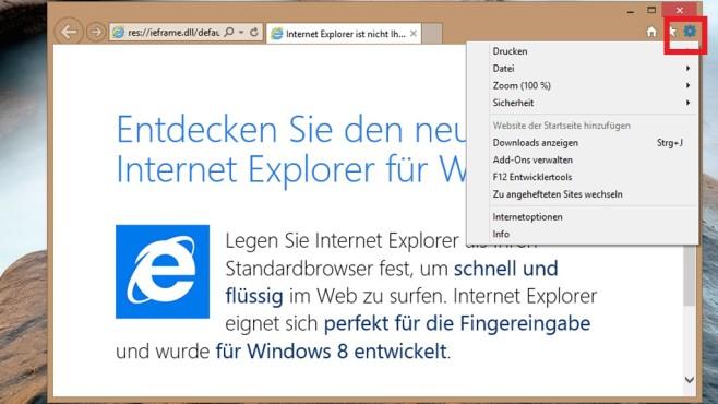 Browser-Verlauf löschen: Internet Explorer ©COMPUTER BILD