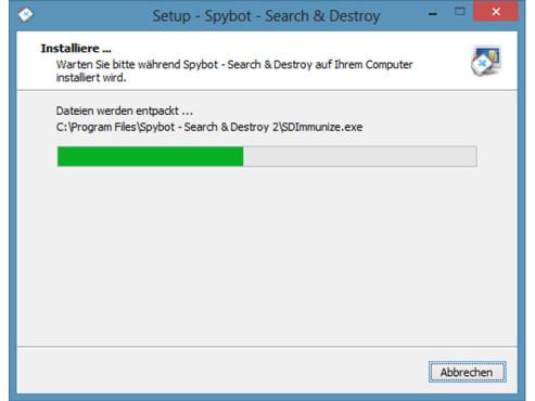 SpyBot � Search & Destroy: Installation und erste Schritte ©COMPUTER BILD