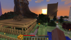 Simulation Minecraft: Sonne ©Mojang