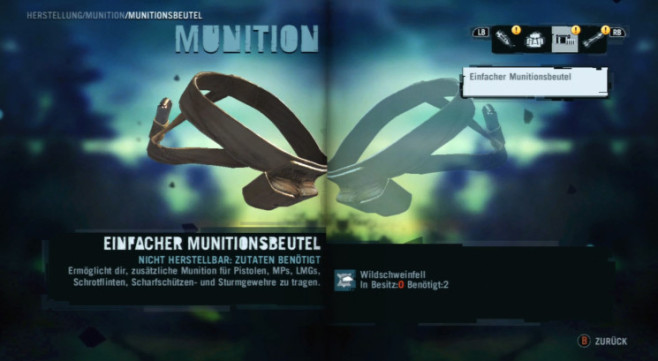 Actionspiel Far Cry 3: Munitionsbeutel © Ubisoft