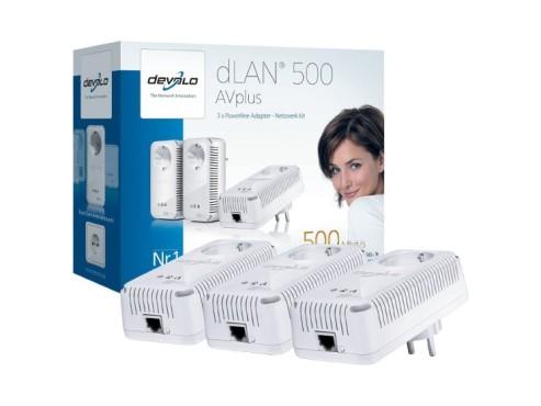 Devolo dLAN 500 AVplus Netzwerk Kit ©Amazon