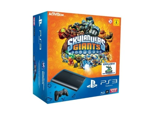 Sony Playstation 3 (PS3) Super slim 12GB + Skylanders: Giants © Amazon