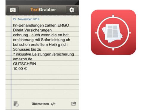 TextGrabber + Translator ©ABBYY