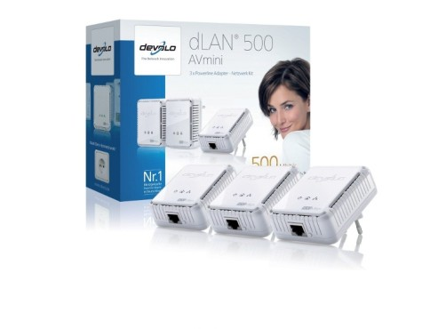 Devolo dLAN 500 AVmini Network Kit © Amazon