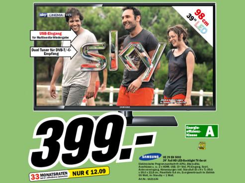 Samsung UE39EH5003 ©Media Markt