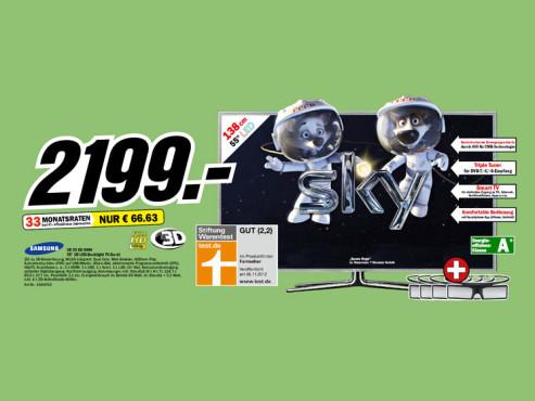 Samsung UE55ES6990 ©Media Markt