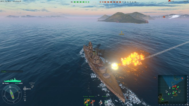 Actionspiel World of Warships: © Wargaming.net