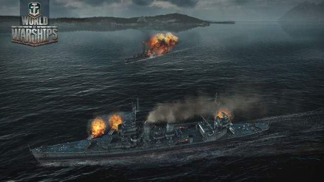 Actionspiel World of Warships: Angriff © Wargaming.net