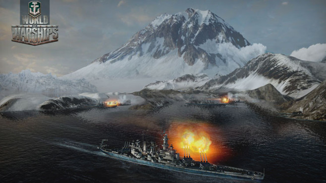 Actionspiel World of Warships: Berg © Wargaming.net