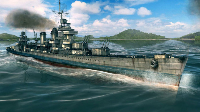Actionspiel World of Warships: Welle © Wargaming.net
