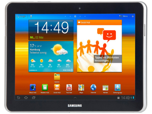 Samsung Galaxy Tab 10.1N WLAN 16GB