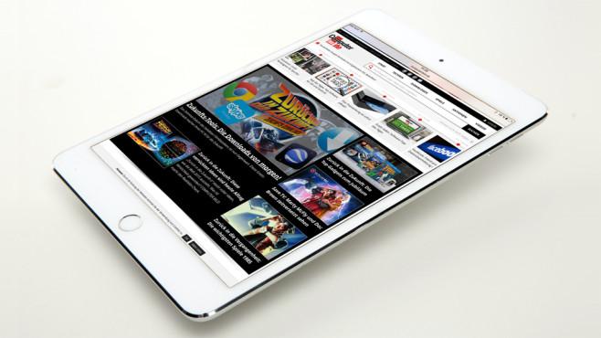 Apple iPad mini 4 ©COMPUTER BILD