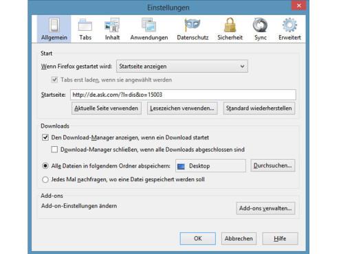 Toolbars deinstallieren: So klappt´s bei Firefox ©COMPUTER BILD