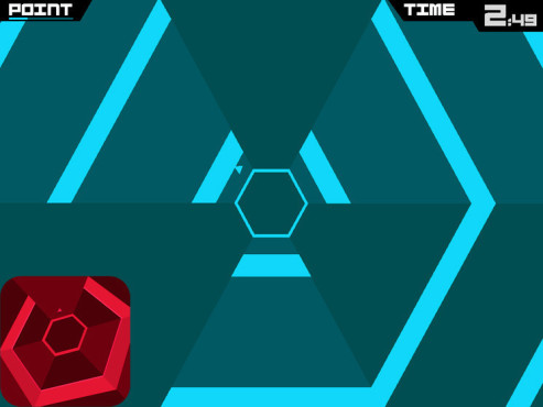 Super Hexagon © Terry Cavanagh