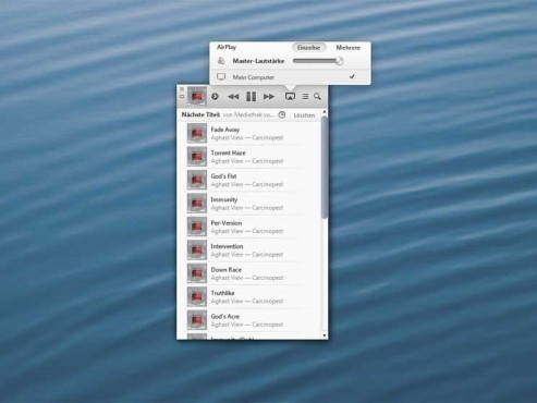 Screenshot iTunes 11 © COMPUTER BILD