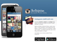 Homepage von Instagram © Screenshot instagram.com / COMPUTER BILD
