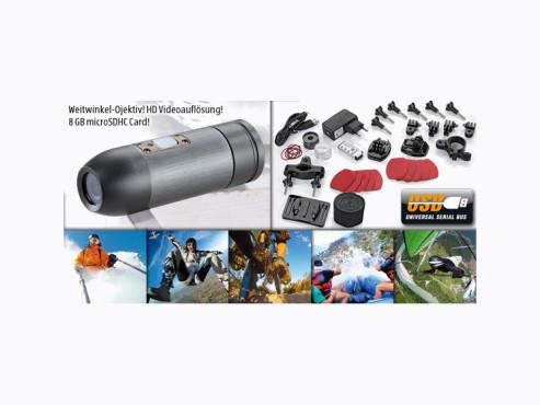 Maginon Action Sports HD1 Action Camcorder. erhältlich bei Aldi Süd ©Aldi