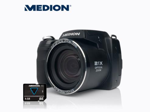 Medion Life X44088 (MD 86888) Bridge-Kamera, erhältlich bei Aldi Nord ©Aldi
