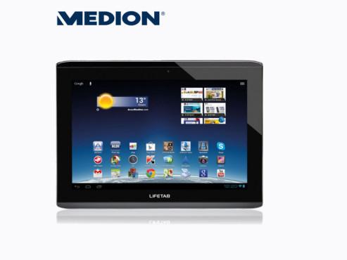Medion Lifetab S9714 (MD99300) Tablet-PC, erhältlich bei Aldi Nord ©Aldi