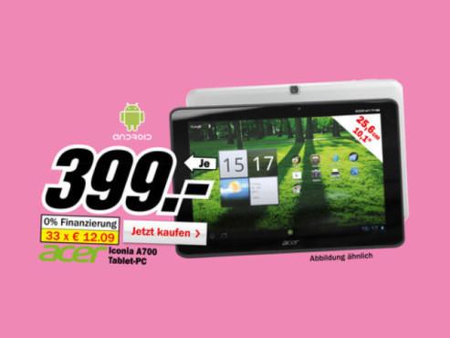 Acer A700 ©Media Markt