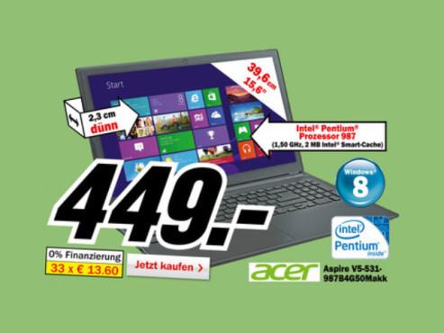 Acer Aspire V5-531-997B4G50Mass (NX.M1HEG.015) ©Media Markt