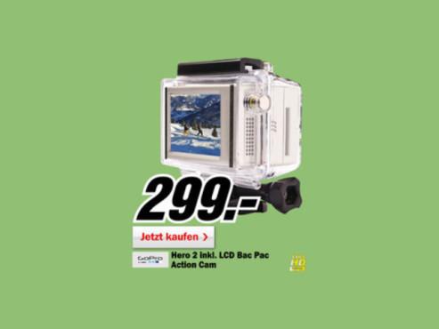 GoPro HD HERO2 Outdoor Edition ©Media Markt