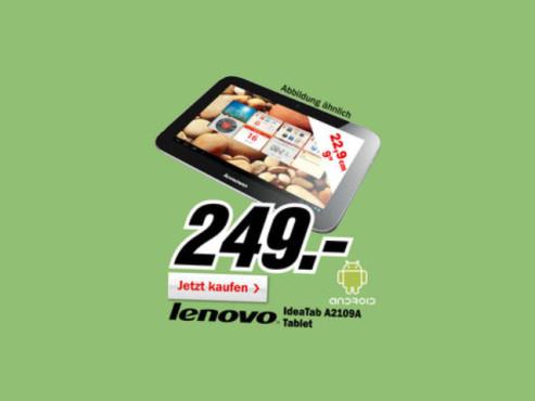 Lenovo IdeaTab A2109A ©Media Markt