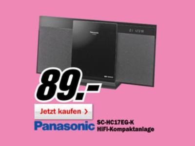Panasonic SC-HC17 ©Media Markt