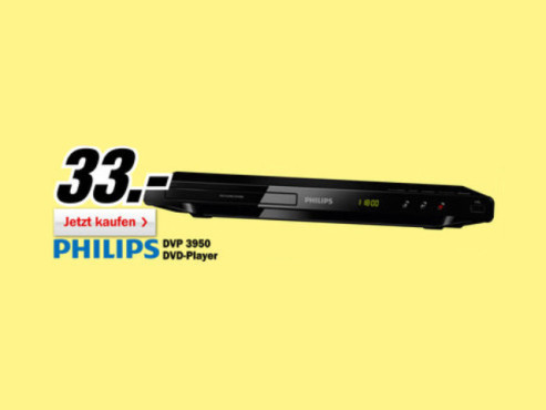 Philips DVP3950 © Media Markt