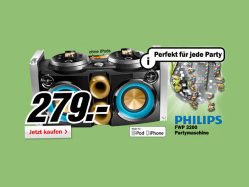 Philips FWP3200 © Media Markt