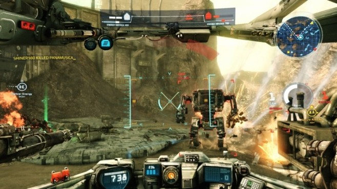 Online-Actionspiel Hawken © Meteor Entertainment