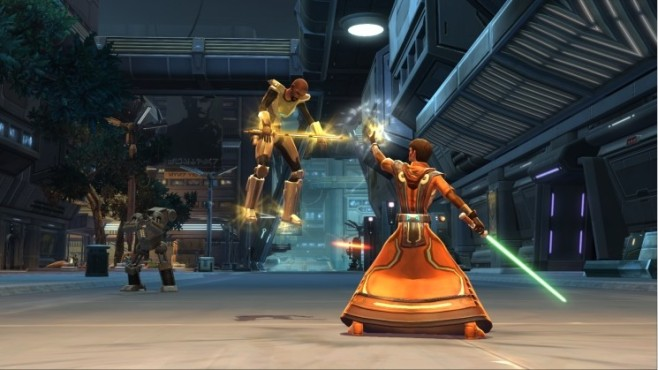 Star Wars – The Old Republic: Telekinetische Kräfte © Electronic Arts