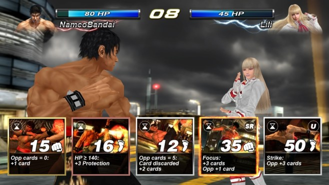 Tekken Card Tournament © Bandai Namco