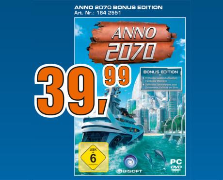 Anno 2070 – Bonus Edition ©Saturn
