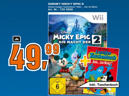 Disney Micky Epic: Die Macht der 2 ©Saturn